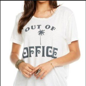 Chaser White Out Of Office T-Shirt